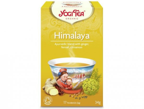 HERBATA HIMALAYA BIO (17x 2g) - YOGI TEA