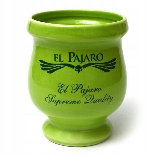 Matero Porongo Zielone El Pajaro 300 ml Yerba Mate