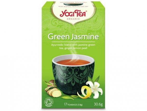 Herbata Jaśminowy Poranek Bio 17x1,8g Yogi Tea