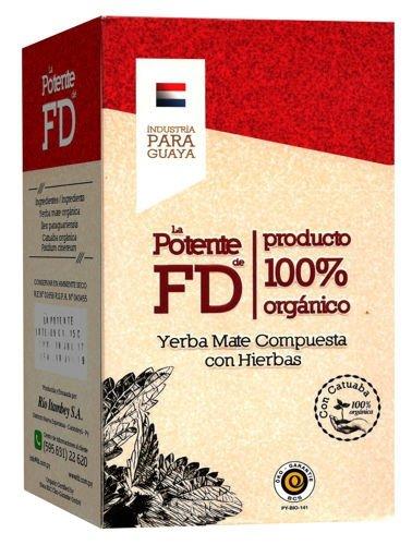 Yerba Mate La Potente FD 500g BIO Afrodyzjak Katuava