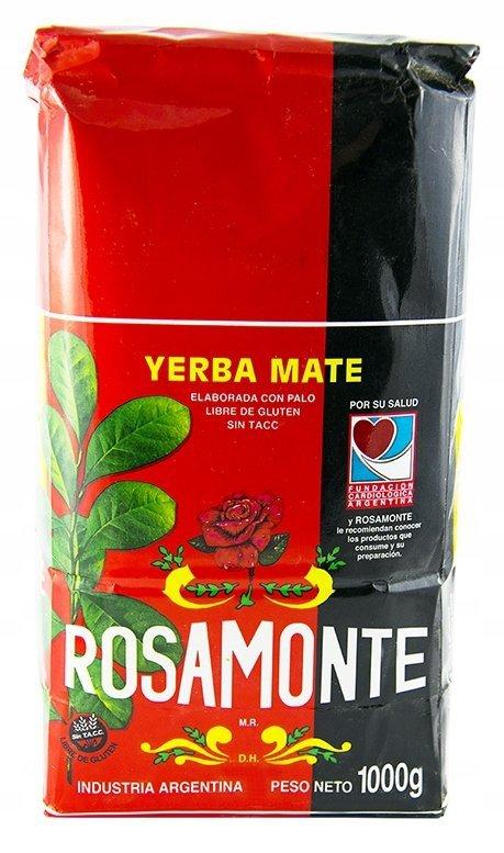 Yerba Mate Rosamonte Pajarito Taragui 3x1kg