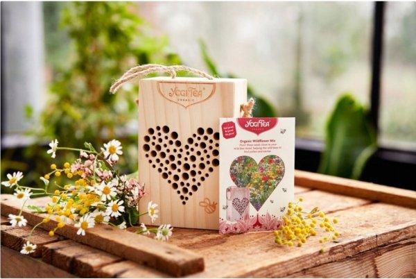 Zestaw herbata Yogi Tea Hotel dla dzikich Pszczół