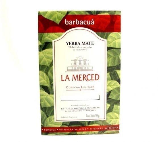 Yerba mate La Merced Exclusive de Barbacua - 500g