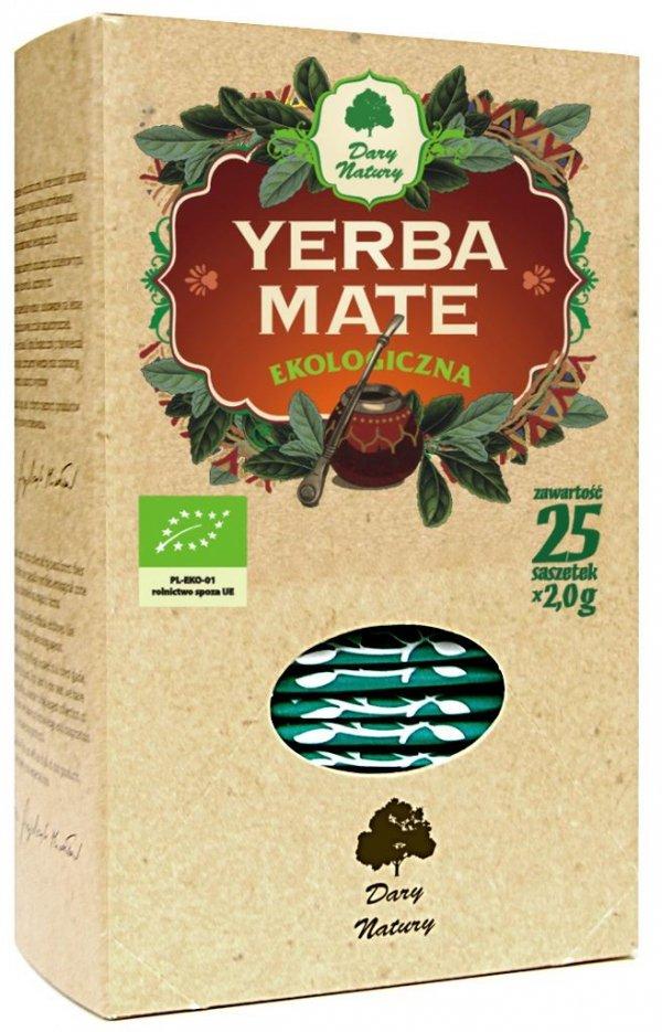 YERBA MATE EKOLOGICZNA BIO (25 x 2 g) DARY NATURY