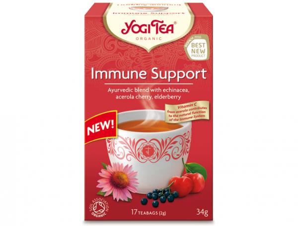 Herbata Na Odporność Acerola Bio 17x2,0g Yogi Tea