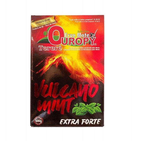 Yerba Mate Ouropy Vulcano Mint 500g EXTRA FORTE