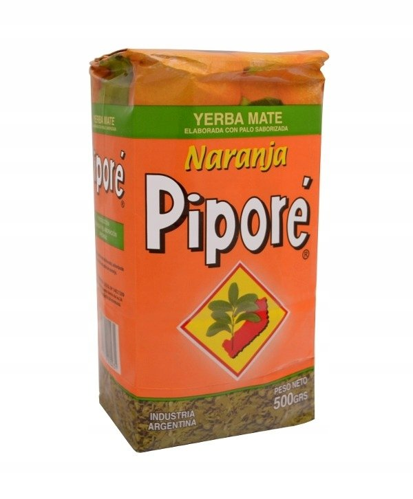 Yerba Mate Pipore Naranja Pomarańczowa 500g