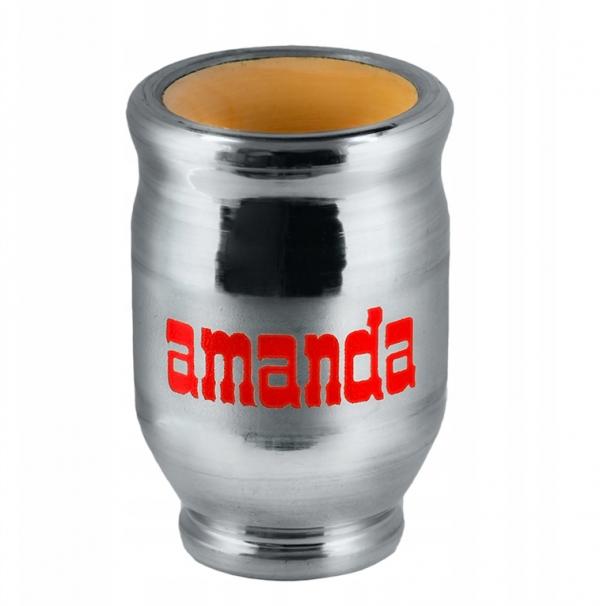 Matero Drewniane Okute Amanda 150 ml do Yerba Mate