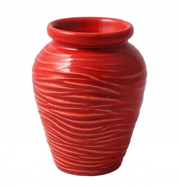Matero Ceramiczne AZTEK Czerwone do Yerba Mate