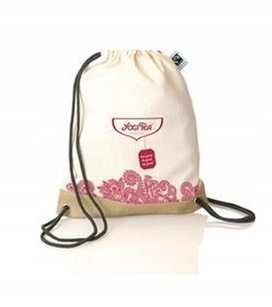 Plecak z bawełny - Logo Herbata YOGI TEA