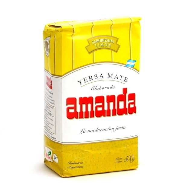 Yerba Mate Amanda Cytrynowa Limon - 500g LEMON
