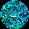 SEMILAC 663 FLASH GALAXY AZZURE&GREEN