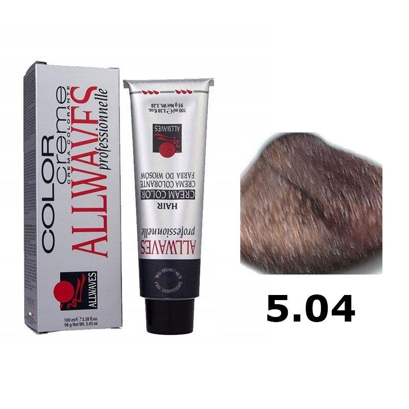Wszystkie nowe Farba do włosów Allwaves 5.04 miedziany brąz w Profryzjer.pl PZ74
