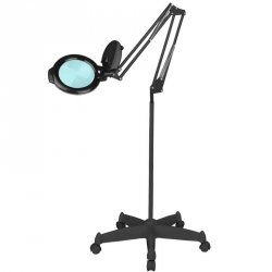 LAMPA LUPA LED MOONLIGHT 8013/6 BLACK ZE STATYWEM
