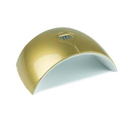 LAMPA UV LED SUN Q5 24W - 2 czasy- ZŁOTA