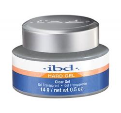 IBD HARD GEL ŻEL JEDNOFAZOWY PRZEŻROCZYSTY UV CLEAR 14G