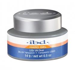 IBD HARD GEL ŻEL BUDUJĄCY PRZEŻROCZYSTY UV/LED CLEAR 14G