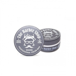 THE BARBER SHOP AQUA HAIR WAX SILVER POMADA WODNA DO WŁOSÓW PERFUM Z DROBINKAMI 150ML