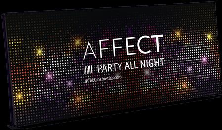 AFFECT PALETA CIENI PARTY