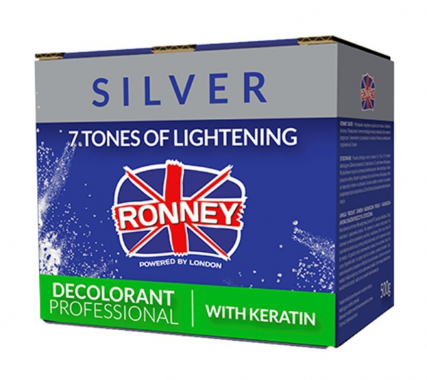rozjaśniacz silver Ronney z keratyną 500g
