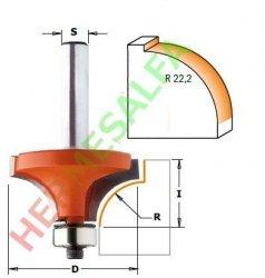 FREZ DO FAZOWANIA PÓŁOKRĄGŁEGO DO ZAOKRĄGLEŃ 12mm R22,2 CMT 938.991.11