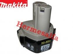 Akumulator ORYGINAŁ MAKITA 1235 Ni-Mh 12V 2,8Ah (d.3,0Ah*)