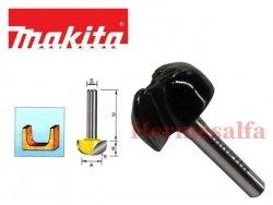 FREZ DO ZAOKRĄGLEŃ R8 6mm MAKITA D-09416