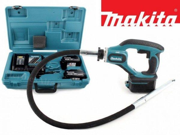 WIBRATOR Akumulatorowy zagęszczacz betonu Makita DVR450RME 18V
