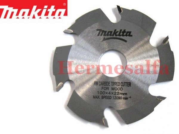 FREZ DO ROWKÓW 100x22x6z DO 3901 MAKITA B-12924 (B-20644)