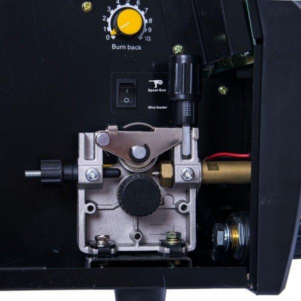 MAGNUM PÓŁAUTOMAT SPAWALNICZY MIG 220 ALU/CU SYNERGIA LCD