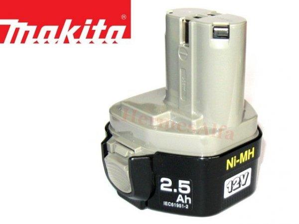 Akumulator ORYGINAŁ MAKITA 1234 Ni-Mh 12V 2,5Ah (2,6Ah*)