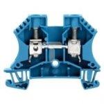 Złączka szynowa 2-przewodowa 10mm2 niebieska ATEX WDU 10 BL 1020380000