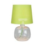 Lampka stołowa MANDY 1xE14 40W zielona 7080115