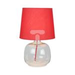 Lampka stołowa MANDY 1xE14 40W czerwony 7082115