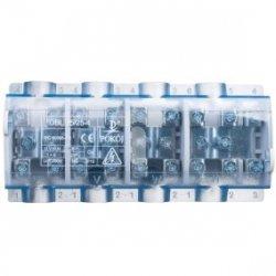 Odgałęźnik 4P 4x35mm2/10x25mm2 niebieski OBL 35/25-4 R35RW-01040000801