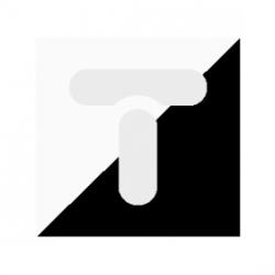 Pierścień do oprawki E27 biały PL-693/0