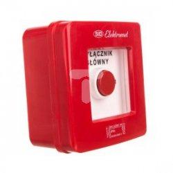Wyłącznik alarmowy 2R 12A /WYŁĄCZNIK GŁÓWNY/ IP55 WG-3s 921442