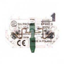Element łączeniowy zwierny EF22DX W0-Ł EF22DX
