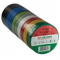 Taśma izolacyjna 19mm x 20m mix 220143 /10 szt/