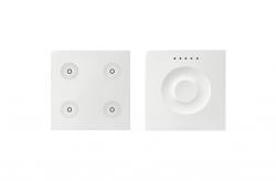 Klawiatura Sense&Slide biały Ikony:Regular