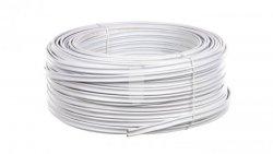 Przewód YDYt 2x1,5 biały 500V /100m/