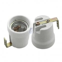 Oprawka ceramiczna HLDR-E27-F 2161