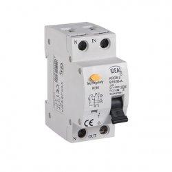 Wyłącznik różnicowo-prądowy z zabezpieczeniem nadmiarowo-prądowym KRO6-2/B16/30 23210