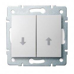Łącznik żaluzjowy  LOGI 02-1100-102 bi 25077