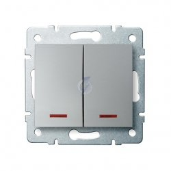 ??cznik zwierny podwójny LED LOGI 02-1023-143 sr 25189