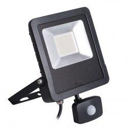 Naświetlacz LED z czujnikiem ruchu ANTOS LED 50W-NW-SE B 27097