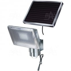 Lampa solarna SOL80 ALU czujnik ruchu PIR i panel PV, light control