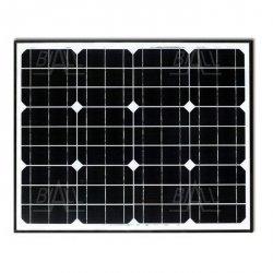 Panel PV monokryst. 12V/130W (676x35x1304) Maxx
