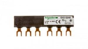 Szyna łączeniowa 3P 63A widełkowa GV2G245
