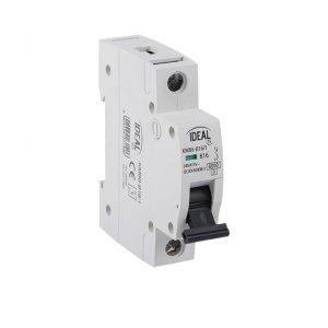 Wyłącznik nadmiarowo-prądowy, 1P KMB6-C6/1 23157